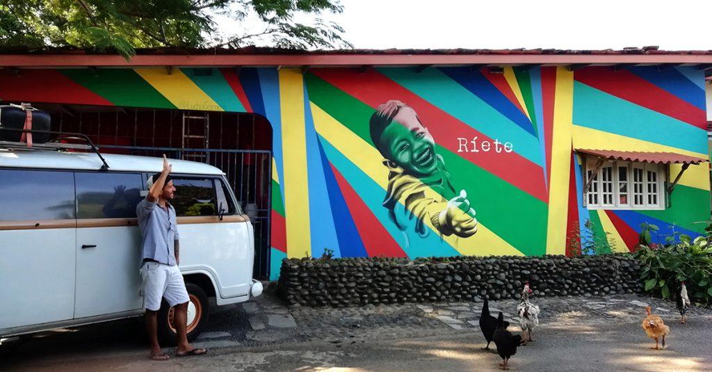 Mural ríete