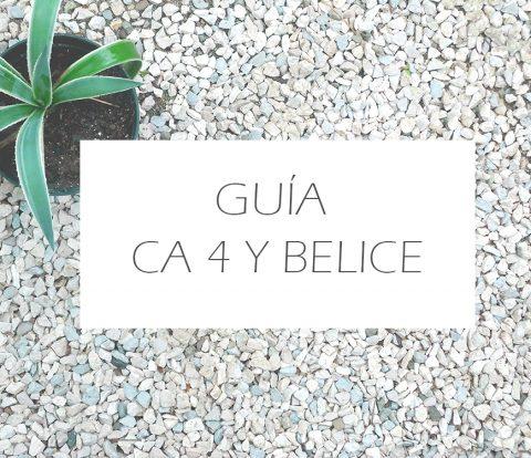Guía de CA4 y Belice