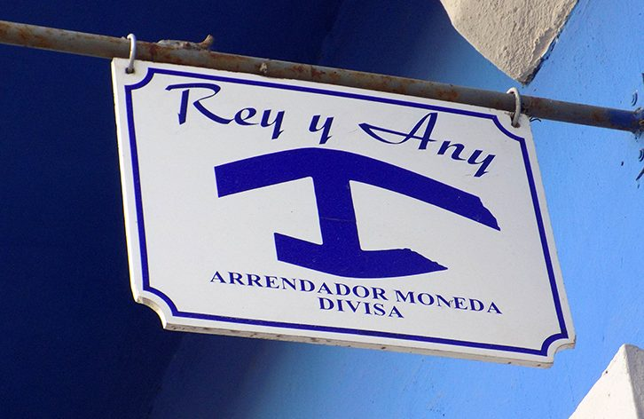 Alojamiento en Cuba con ancla azul
