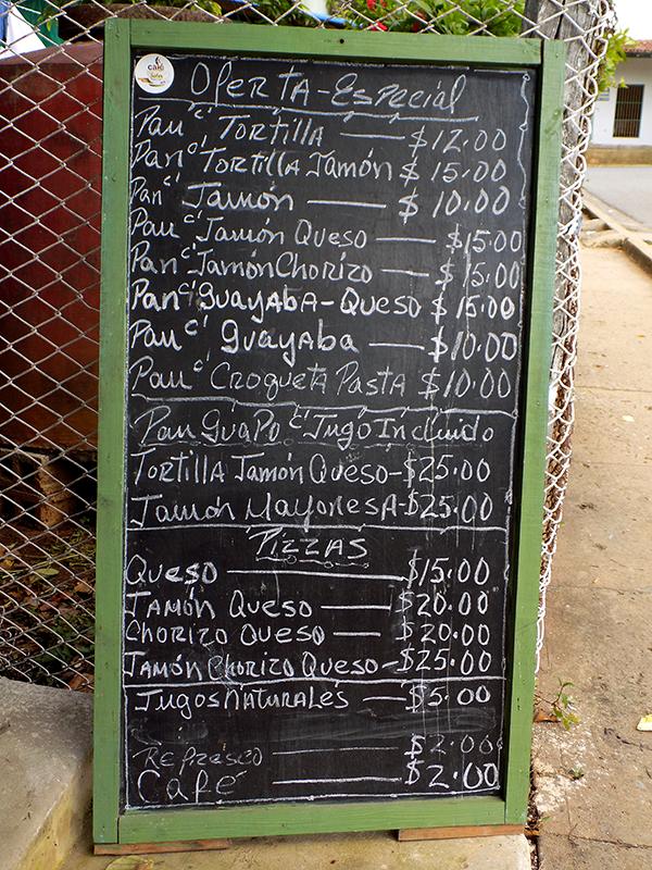 Paladares para comer en Cuba barato