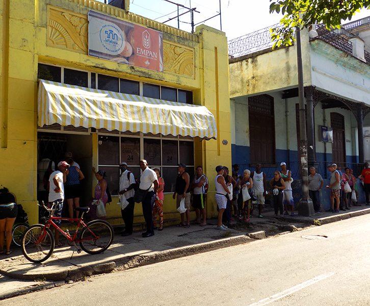 Panadería en Cuba