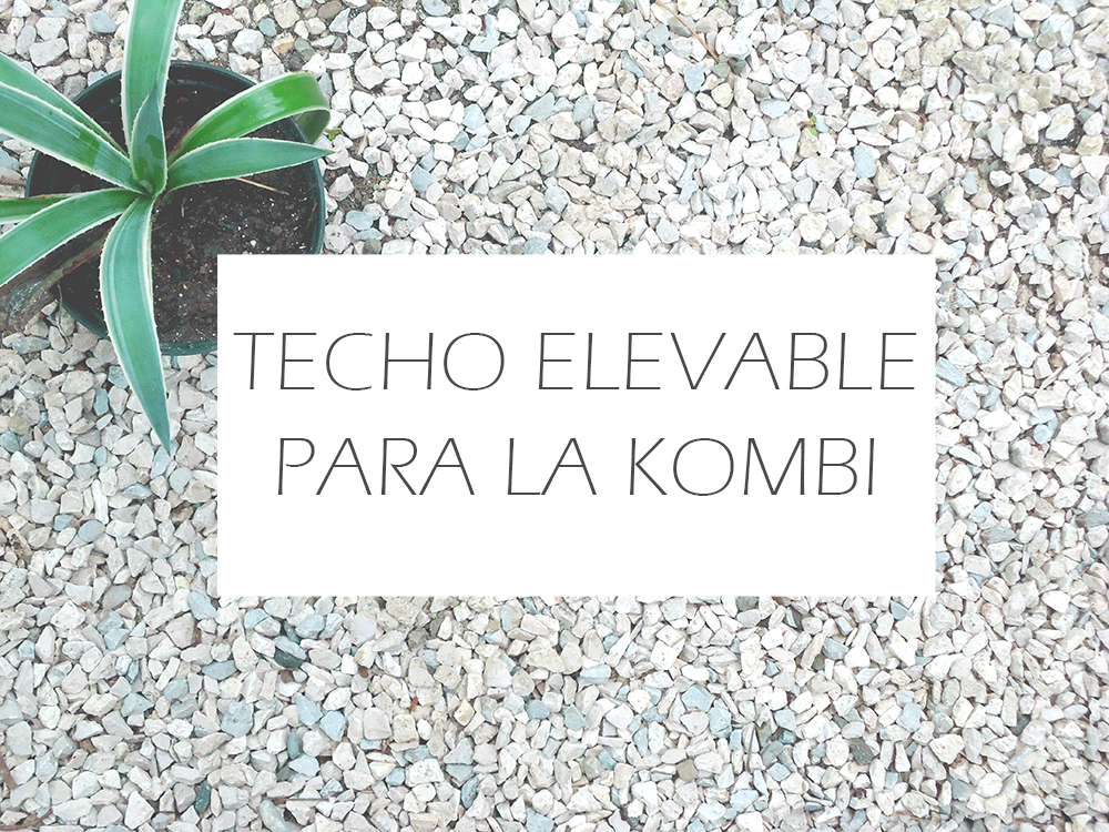Techo elevable kombi