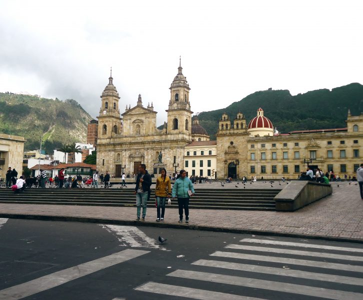Centro histórico de Bogotá