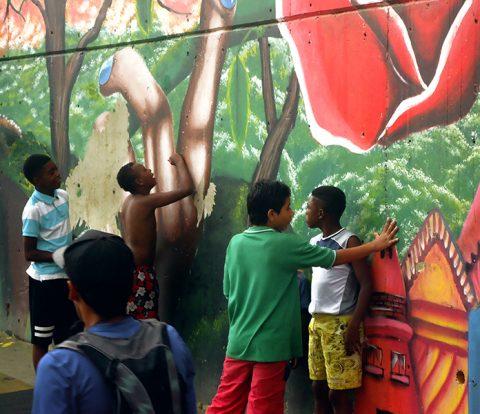 Tour de graffitis Medelín