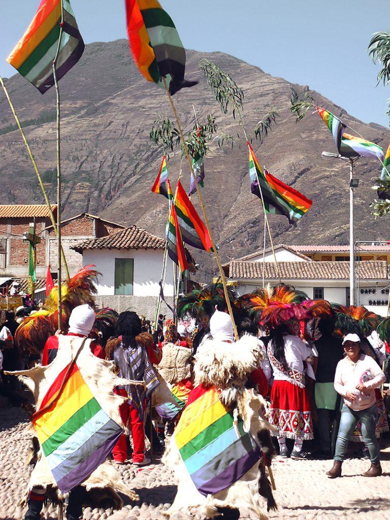 Celebración en Pisac